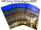 Paper Shopping Bags 100 Christmas Retail Gift Holiday Nativity 11x6x35