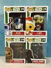 Funko POP! Star Wars Holiday *Lot of 4* R2-D2 C-3PO Darth Vader Chewbacca NEW