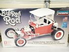 Lindberg Big Red Rod 1:8 Scale Plastic Model Kit - Factory Sealed