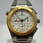 IWC INGENIEUR CHRONOGRAPH ALARM REF:3805-004 STAHL/GOLD BOX&PAPIERE