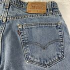 Vintage Levis 550 Relaxed Fit Blue Jeans Tag 34 x 32 Made in USA Actually 33x31