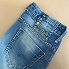 GStar Jeans Bootcut Blue Denim Low Rise Vintage Womens UK 6 Waist 25 Leg 33