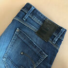 GStar Jeans Skinny Low Rise Blue Vintage Womens Small UK 10 Waist 28 Leg 31