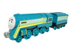 CONNOR & Tender ~ Thomas and Friends Take N Play Along Diecast Train Engine