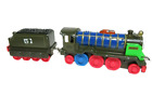 PATCHWORK HIRO & Tender Thomas & Friends Take N Play Along Diecast Train Engine