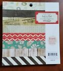 DIY SHOP 6x6 Paper Pad by Crate Paper NEW