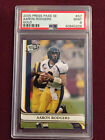 Aaron Rodgers 2005 Press Pass SE Gold Rookie Card RC PSA 9 Mint Packers Goat