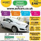 2017 WHITE FORD FIESTA 10 ECOBOOST 100 TITANIUM PETROL 5DR CAR FINANCE FR 46PW