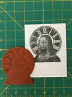 Mona Lisa Collage unmounted rubber stamp