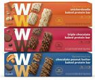 WW Weight Watchers 3 Pack of 6 Baked Protein Bars Chocolate Peanut Butter NEW