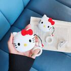 3D Cute Hello Kitty Cartoon Silicone Cover For Apple Airpods Pro 2 Earphone Case