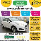 2017 WHITE FORD FIESTA 10 ECOBOOST 100 ZETEC PETROL 3DR CAR FINANCE FR 44 PW