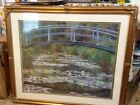 Signed Claude Monet 1899 Painting 29 1 2x 30 Beautiful golden frame