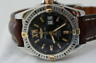 BREITLING COCKPIT B49350 18K GOLD & SS  WATCH  1000 FT W/R BOX & PAPERS