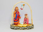 Nativity Set Christmas Wood Carvings are hand painted by the artistNativity Sce