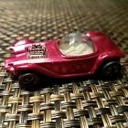 Hot wheels 1968 beatnik bandit pink redliner