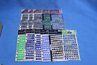 Lot of 11 packs Scrapbooking Stickers Numbers Letters