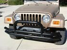 Rampage 8820 Front Double Tube Bumper Fits 97 06 TJ Wrangler