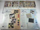 Lot of 5 Creative Memories Printed Photo Mounting Paper New Sealed Various