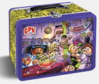 2020 GPK Garbage Pail Kids Late to School PURPLE & BLUE EMPTY LUNCH BOXES