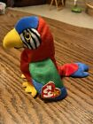Authentic RARE TY Beanie Baby JABBER the Parrot