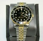 Rolex GMT Master II 16713 Black Dial with 18K Gold & Stainless Band