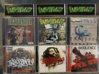 Insolence 6 Cd Lot Within, Universal, Poisonous Philosophy, Audio War, Stand...