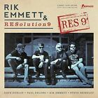 RIK EMMETT  AND RESOLUTION 9 - RES9 [SLIPCASE] NEW CD