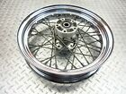 2003 Harley Davidson FXDL Dyna Low Rider Rear Back Wheel Rim Video Wobble 16X3