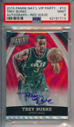 2015 Panini National VIP Party Auto Red Wave 25 Trey Burke #10 PSA 9 POP 1