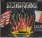 TOUR EDITION CD + 2 DVD's - Scorpions Return To Forever 888751932920 BRAND NEW !