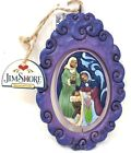 Jim Shore Heartwood Creek Nativity Jesus Christmas Tree Hanging Ornament Set 2