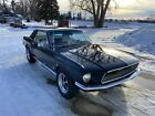 1968 Ford Mustang 1968 Ford Mustang 0 Black Coupe 8 Cyl Automatic