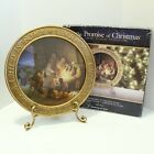 The Promise Of Christmas by Robert Stanley Lighted Nativity Charger With Stand