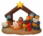 Northlight 65 Inflatable Nativity Scene Lighted Christmas Outdoor Decoration