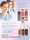 BioTouch Permanent Makeup Pigment Ink Color Tattoo Micropigmentation Cosmetic
