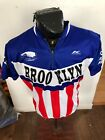 MENS XLarge Kucharik Cycling Jersey Brooklyn Bridge United States of America USA