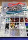 Big lot of Crystal Beads long bicone rice oval drop tear drop shapes