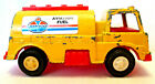 TOOTSIETOY 1970 VINTAGE AMOCO AVIATION FUEL TRUCK - YELLOW FUEL TRUCK