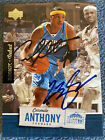 2005 Upper Deck Rookie Signed Auto Basketball Lebron James & Carmelo Anthony