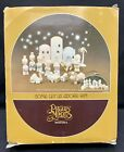 Precious Moments Come Let Us Adore Him 11 pc piece Set MINI Nativity MINIATURES