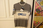 Authenthique redition vintage Cinelli cycling jersey wool laine maillot
