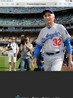 Sandy Koufax issued used worn 2015 Dodgers road jersey. Photo match.