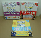 Lot of 3 The Biggest Loser SC Books Fitness Program Simple Swaps Success Secrets