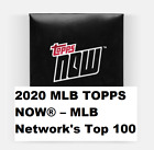 2020 Topps Now MLB Network Top 100 Players Baseball Cards 17
