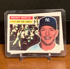 1956 Topps Mickey Mantle New York Yankees Collectors Edition #135 Baseball Card