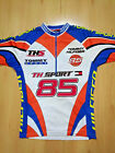 Vintage Tommy Hilfiger Jeans Cycling Jersey TH SPORT Spell Out 90s Retro Men M