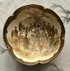 LATE MEIJI PERIOD JAPANESE SATSUMA POTTERY BOWL