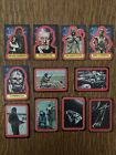 1977 Star Wars Cards Series 2 Sticker Set (12-22) Excellent Condition
