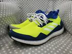 Adidas Ultra Boost Mid Prototype Size 105 Yellow Blue Grey BD7399 Pre Owned